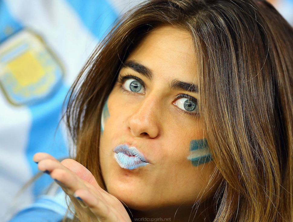 World Cup Hot Argentinian Girl