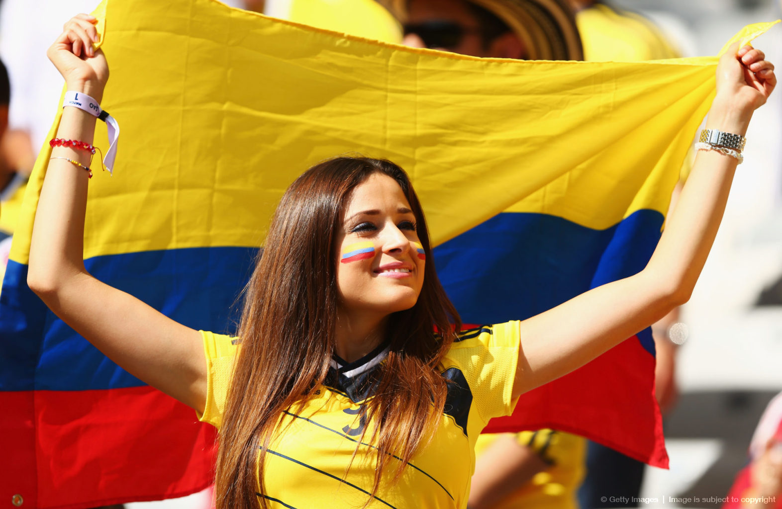 World Cup Hot Colombian Girl 2