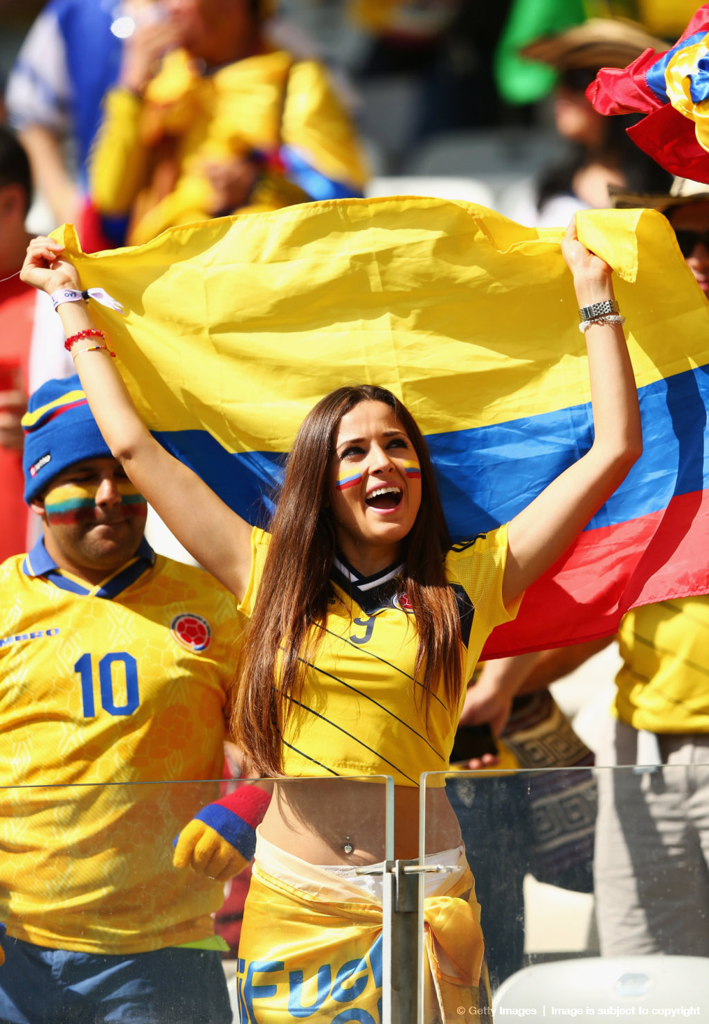 World Cup Hot Colombian Girl