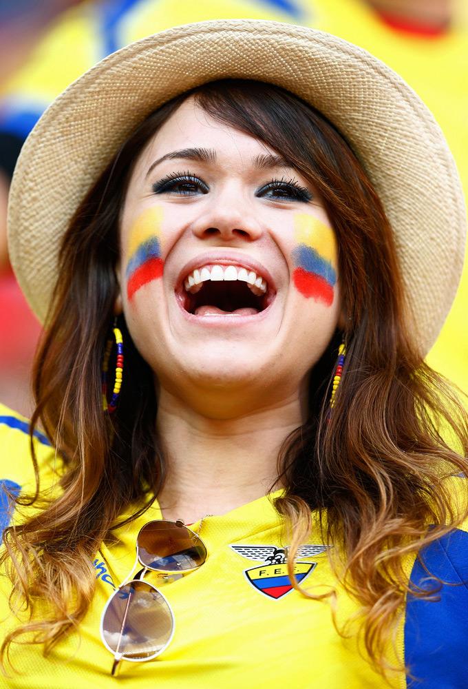 World Cup Hot Ecuador Girl