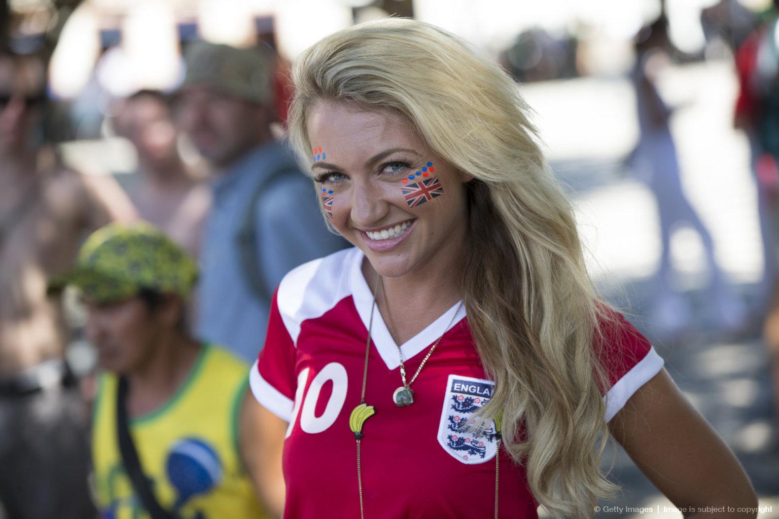 World Cup Hot English Girl