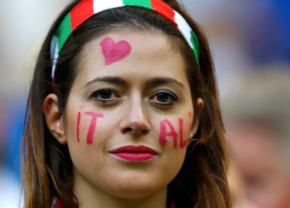 World Cup Hot Italian Girl