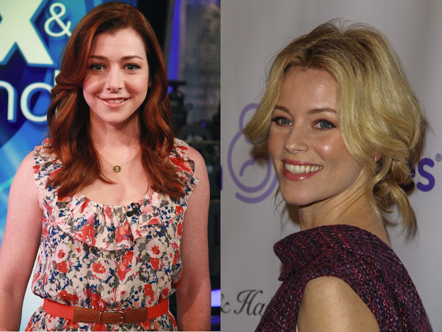 Alyson Hannigan and Elizabeth Banks