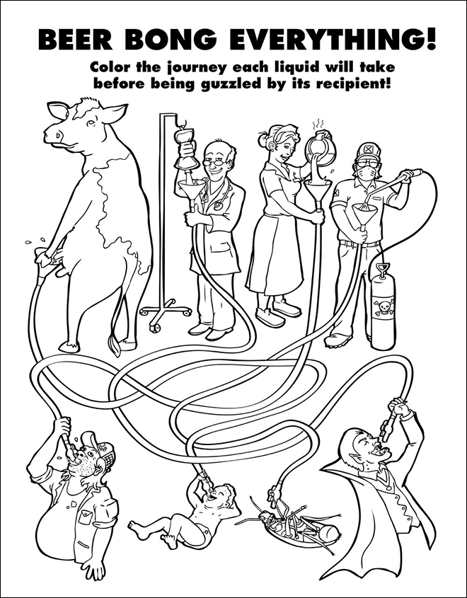 Coloring Book For Grown-Ups (16)