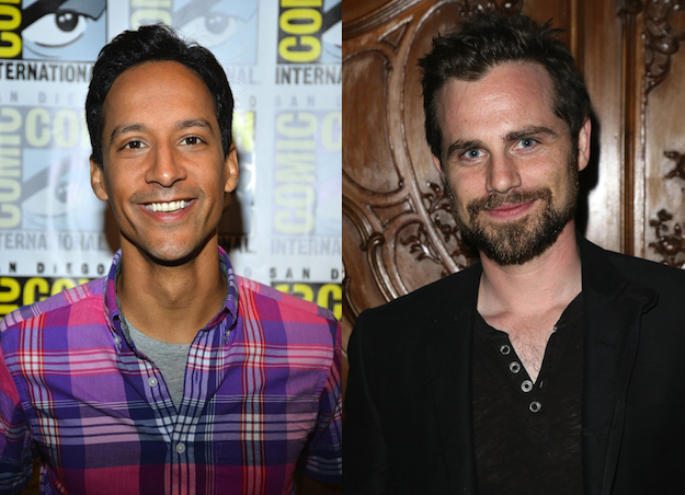 Danny Pudi and Rider Strong