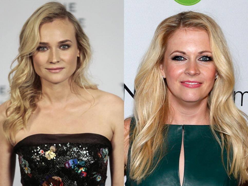 Diane Kruger and Melissa Joan Hart