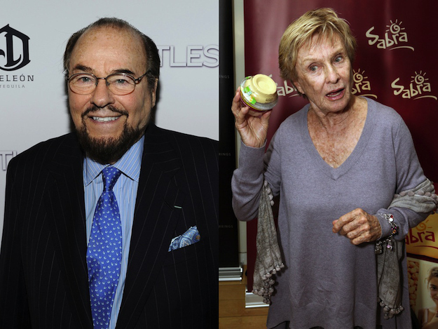 James Lipton and Cloris Leachman