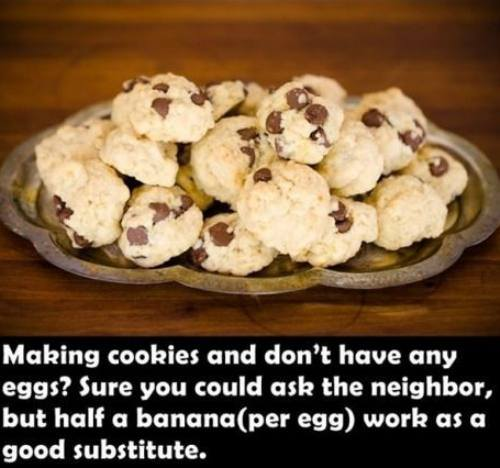 Make cookies with bananas
