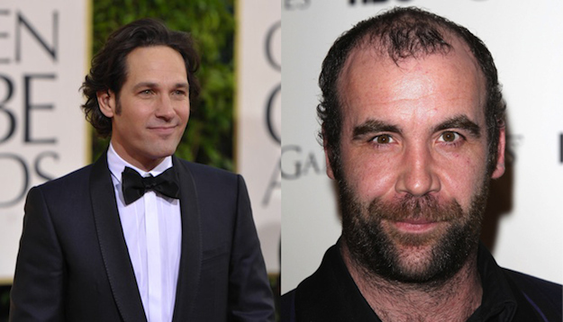 Paul Rudd and Rory McCann