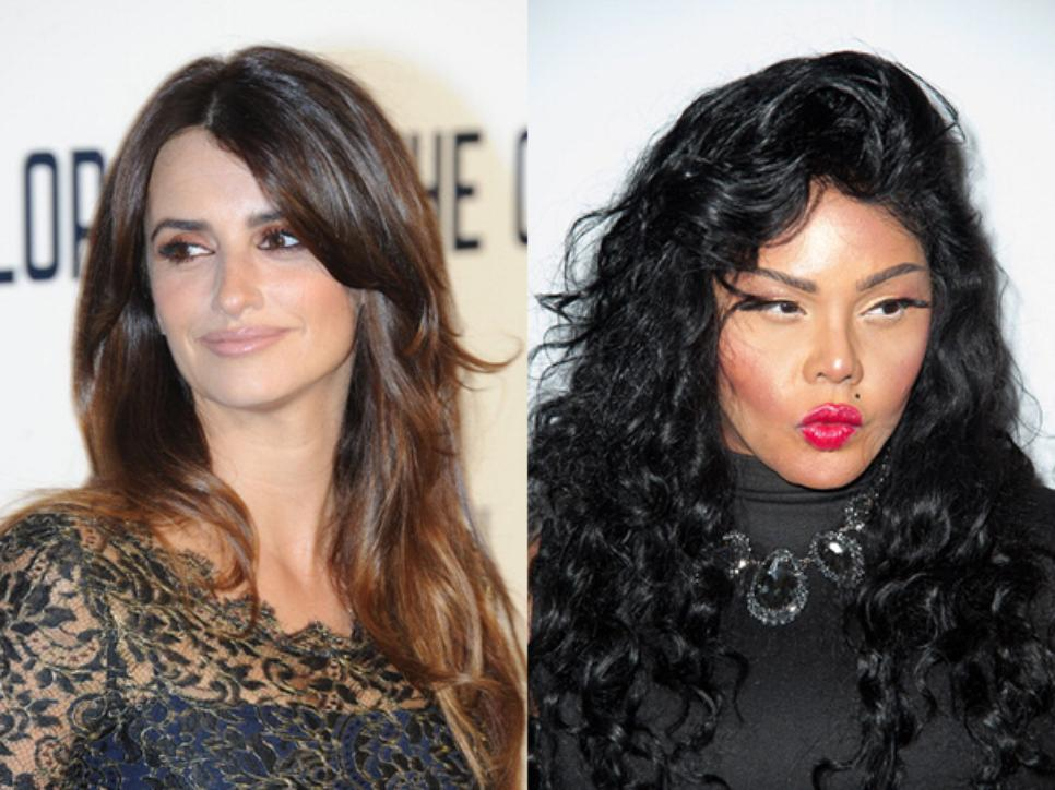 Penelope Cruz and Lil Kim