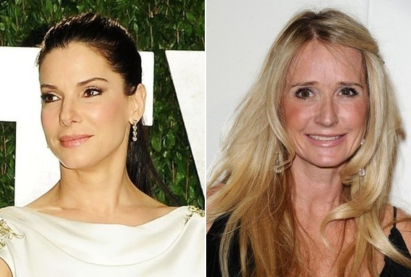 Sandra Bullock and Kim Richards