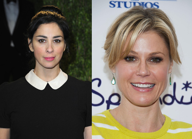 Sarah Silverman and Julie Bowen