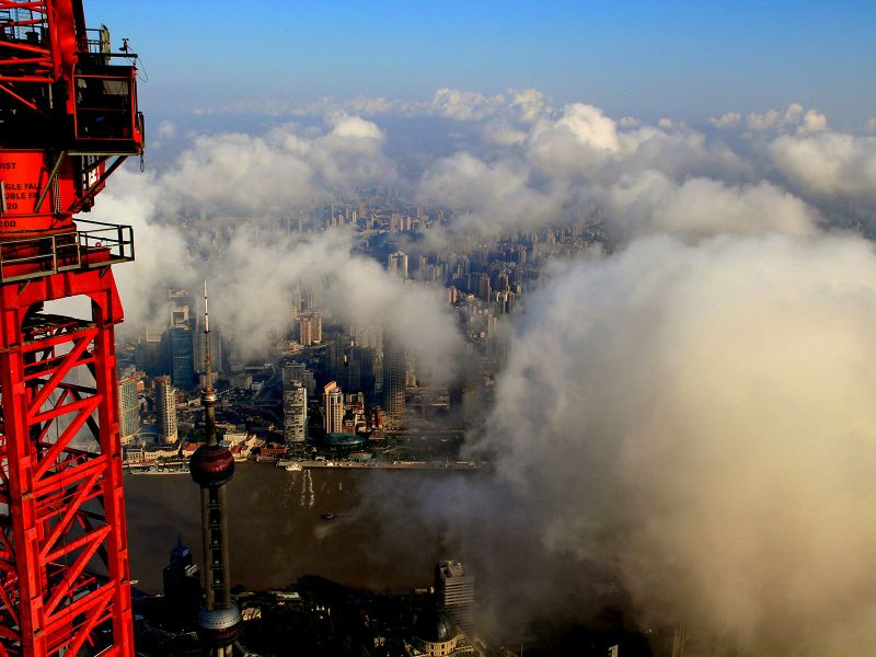 Shanghai Tower View (1)