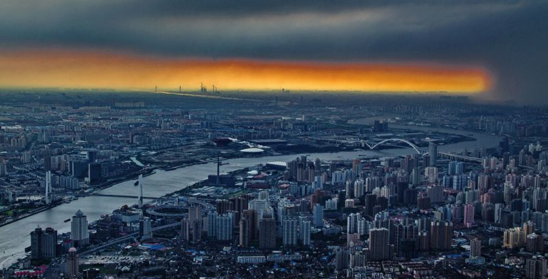 Shanghai Tower View (4)