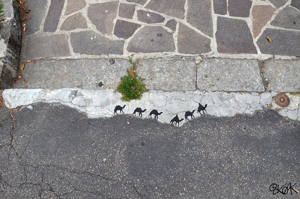 Street Art By Oakoak (2)