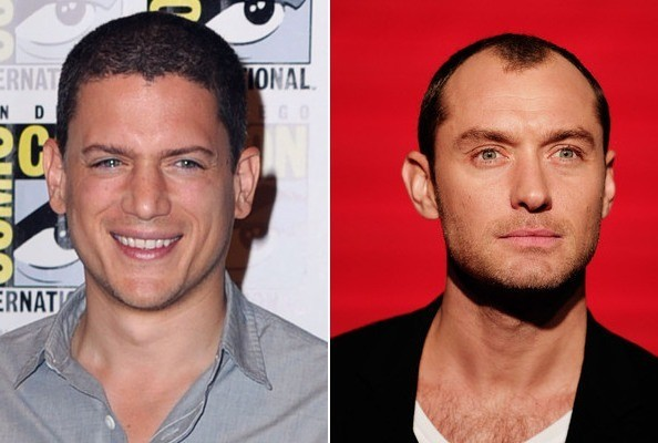 Wentworth Miller and Jude Law