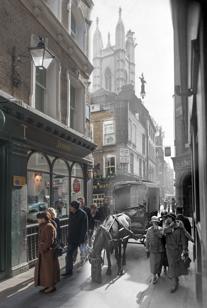 Bow Lane off Cheapside