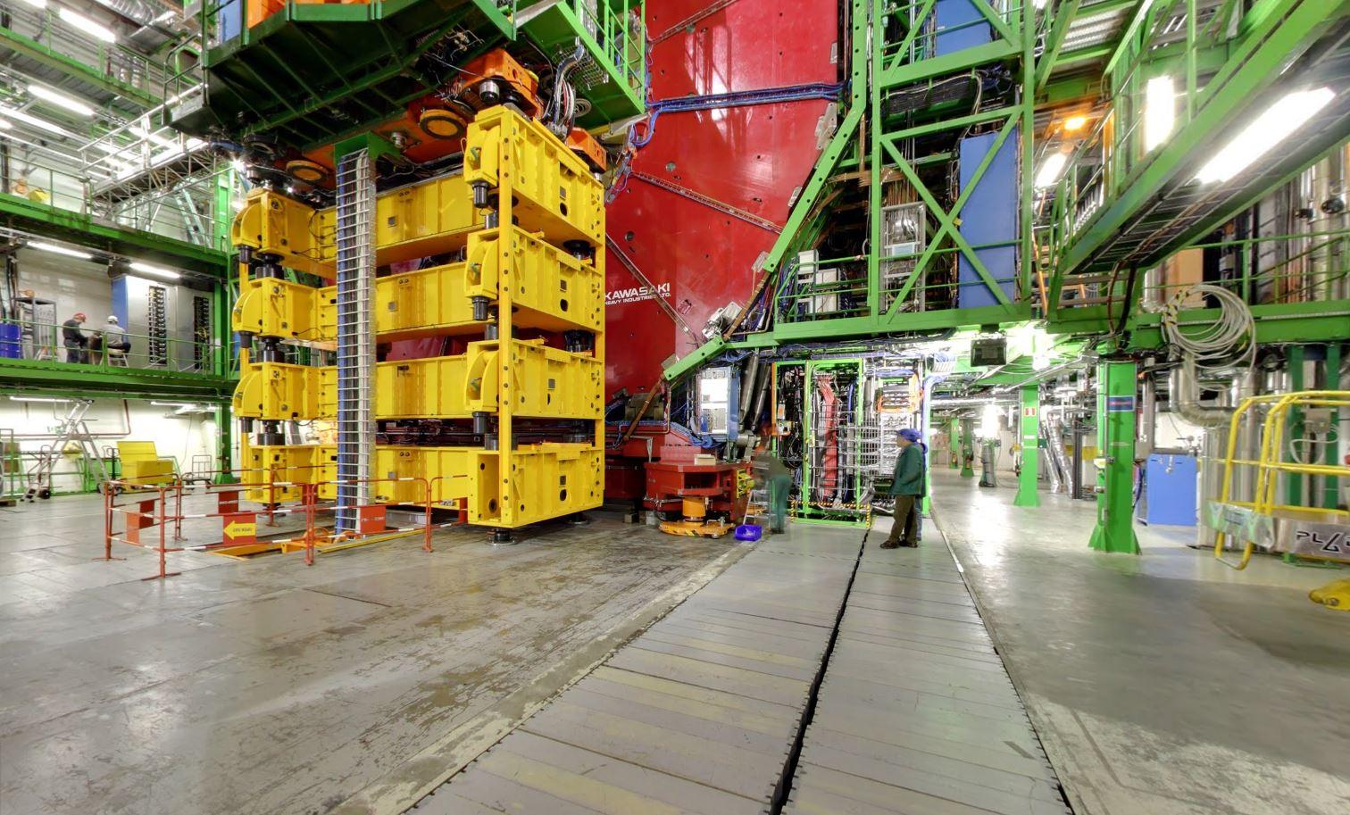 CERN Google Street View
