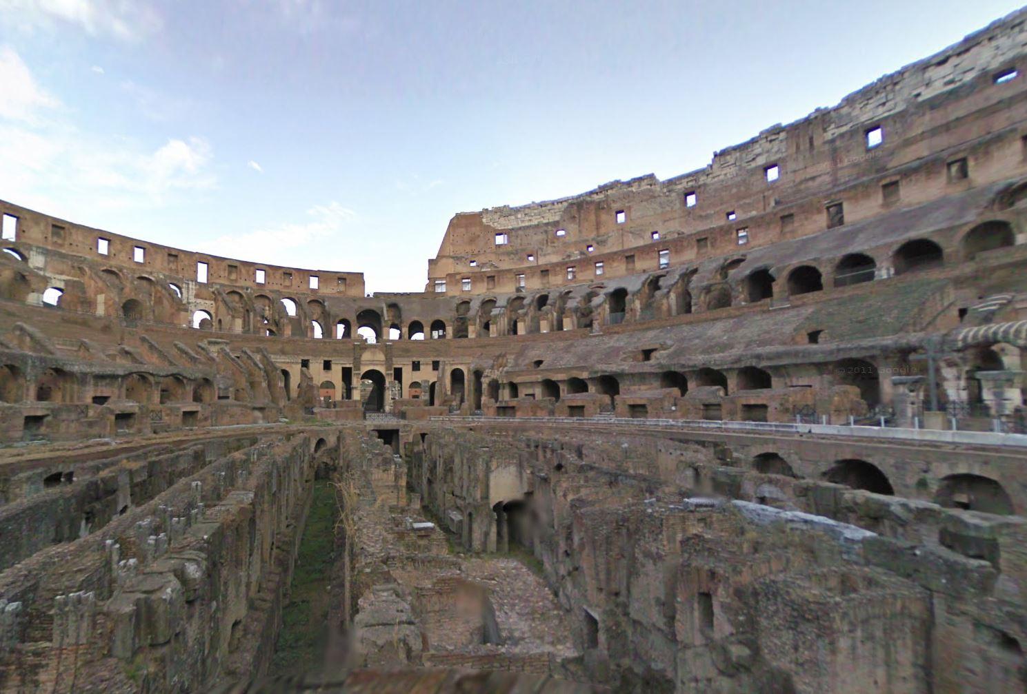 Colosseum Google Street View