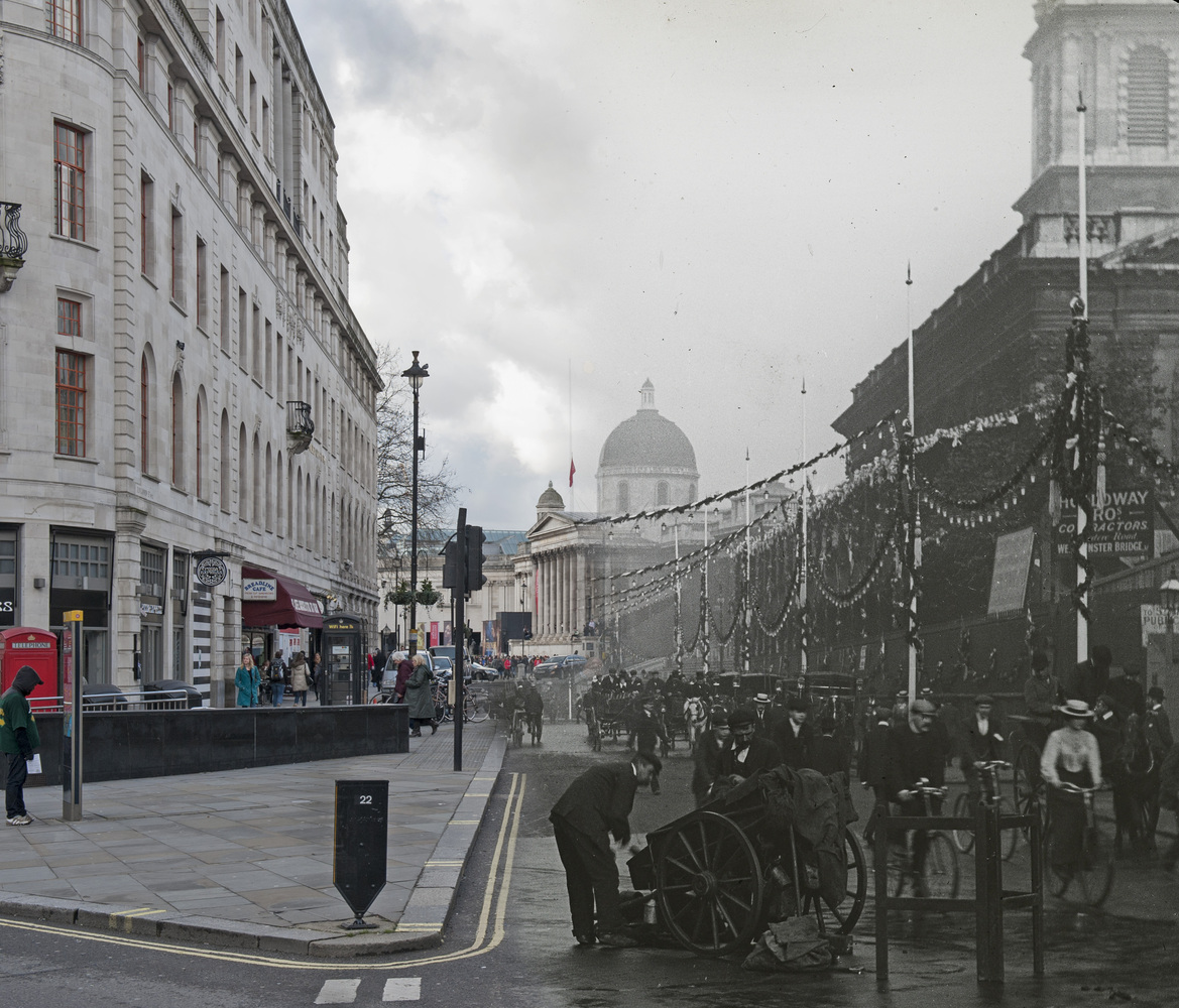 Duncannon Street in the City of London