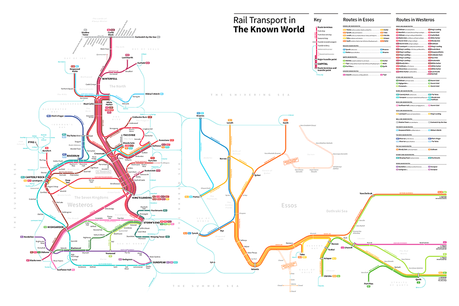 Game Of Thrones Transit Maps (1)
