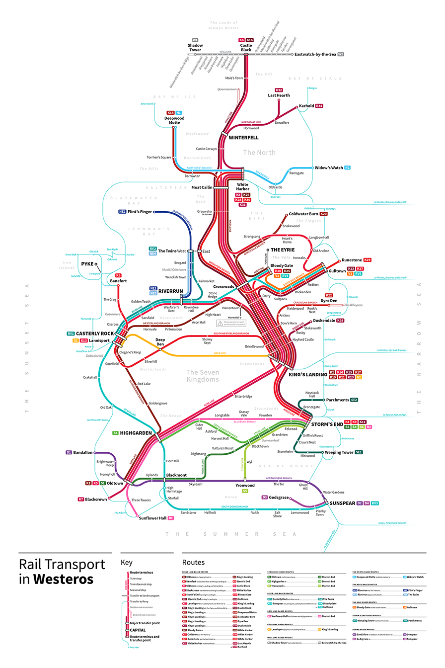 Game Of Thrones Transit Maps (7)