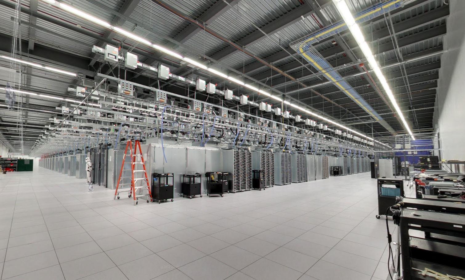 Google Data Center Google Street View