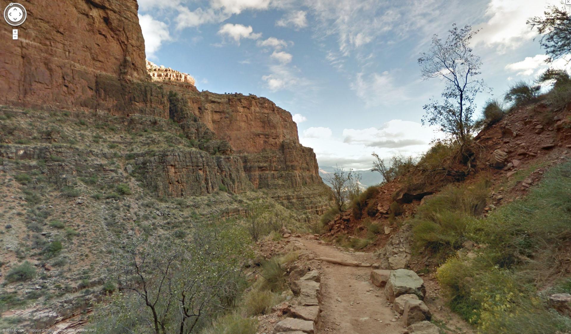 Grand Canyon Google Street View
