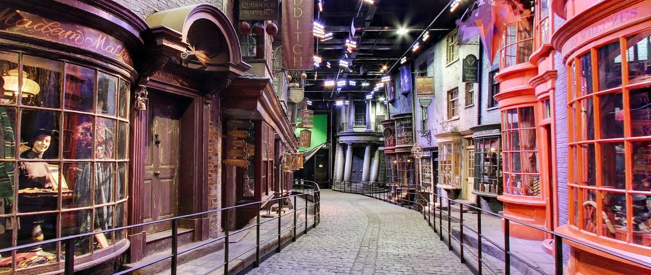 Harry Potter's Diagon Alley Google Street View