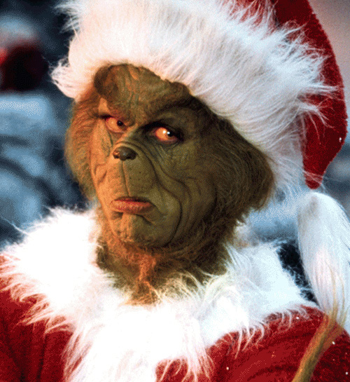 Jim Carrey, How The Grinch Stole Christmas