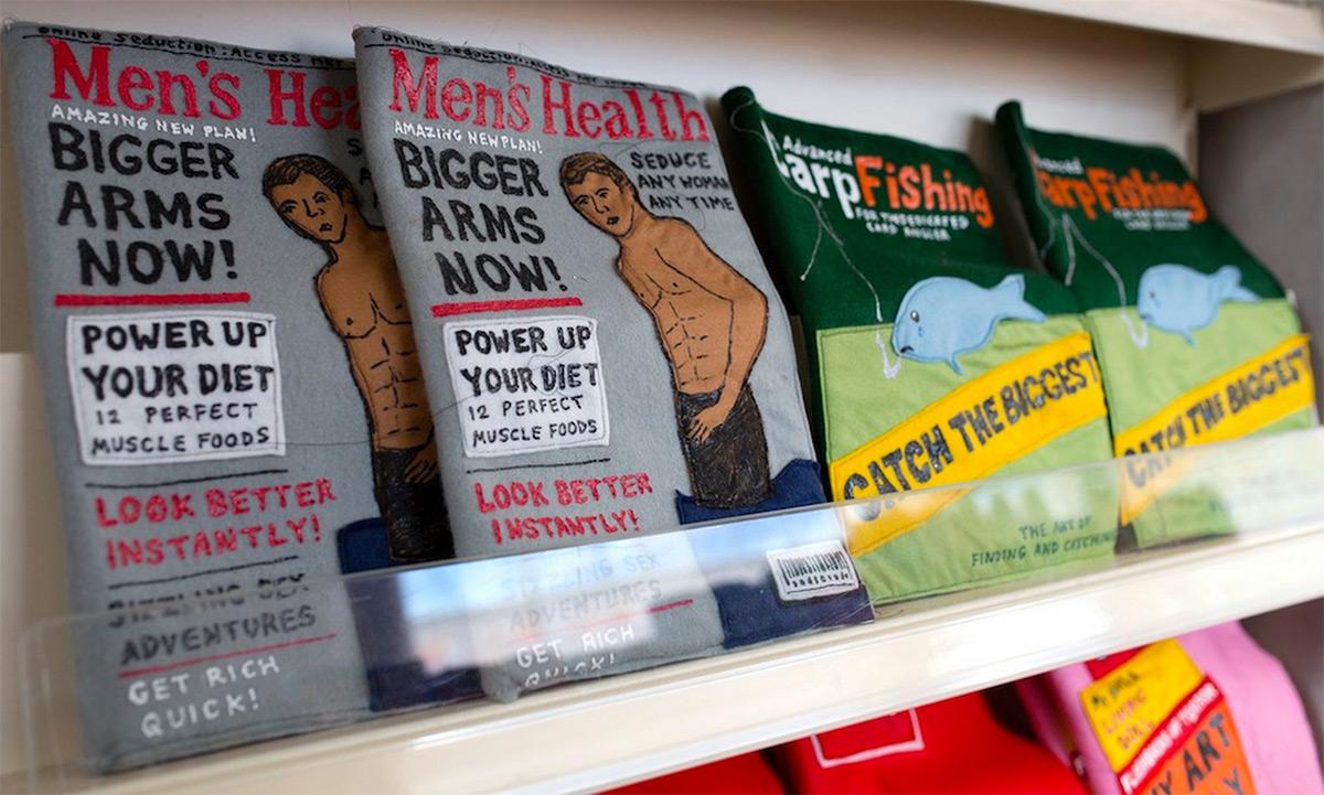 Magazines Made Of Felt
