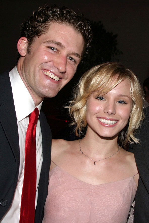Matthew Morrison and Kristen Bell