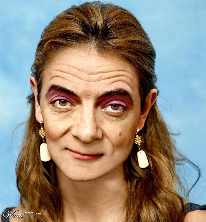Mrs Rowan Atkinson