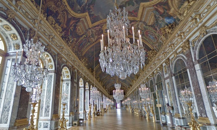 Palace of Versailles Google Street View