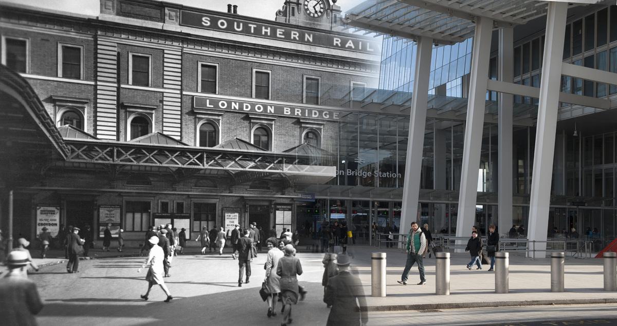 Southern Railway's terminus, London Bridge