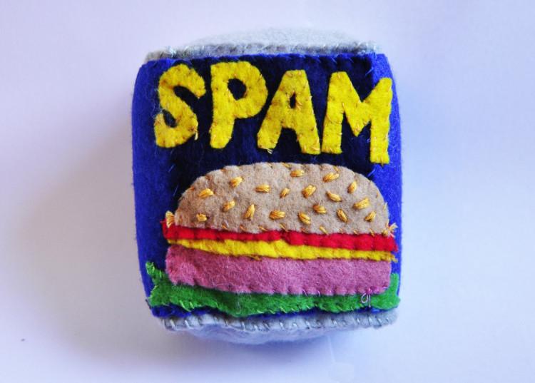 Spam Made Of Felt