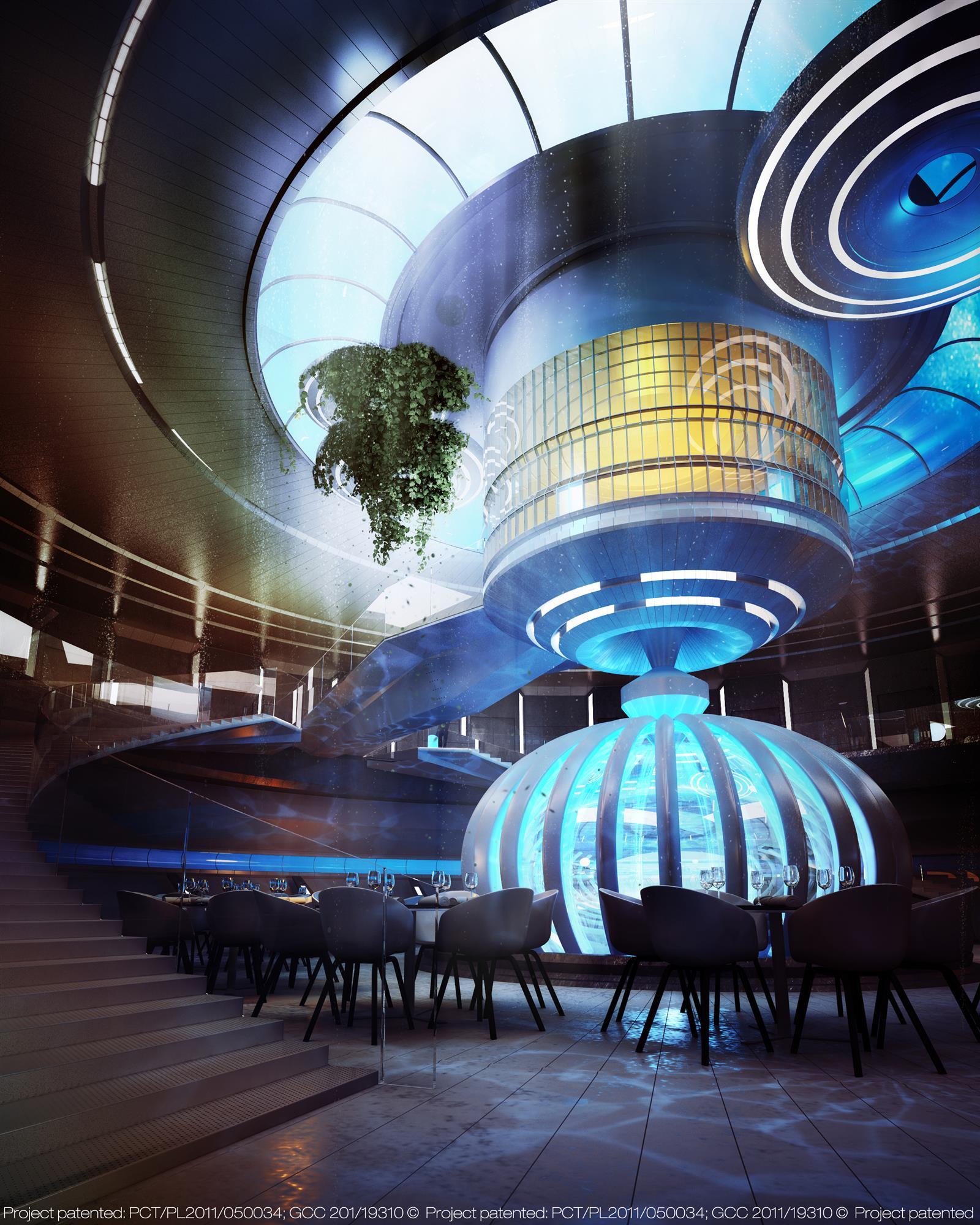 Water Discus Underwater Hotels In Dubai (11)