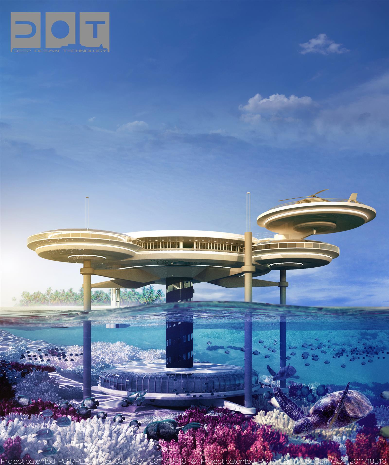 Water Discus Underwater Hotels In Dubai (3)