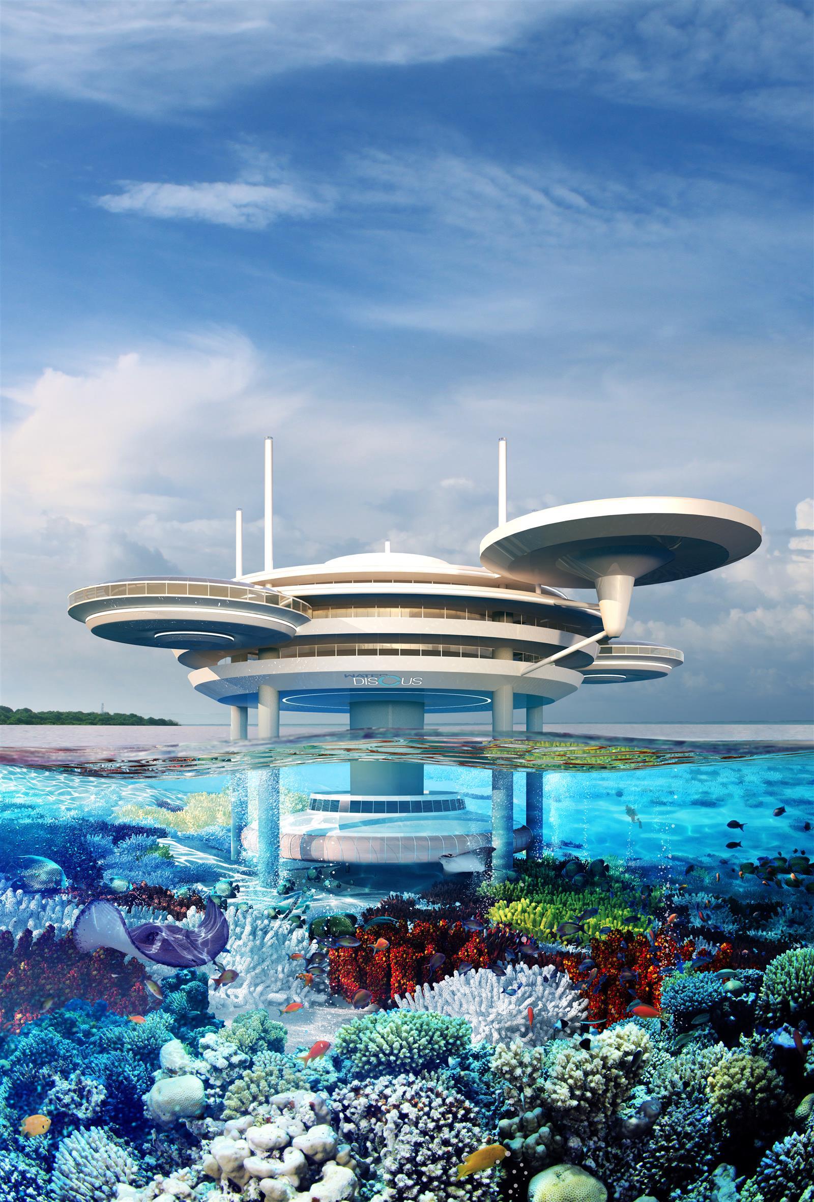 Water Discus Underwater Hotels In Dubai (4)