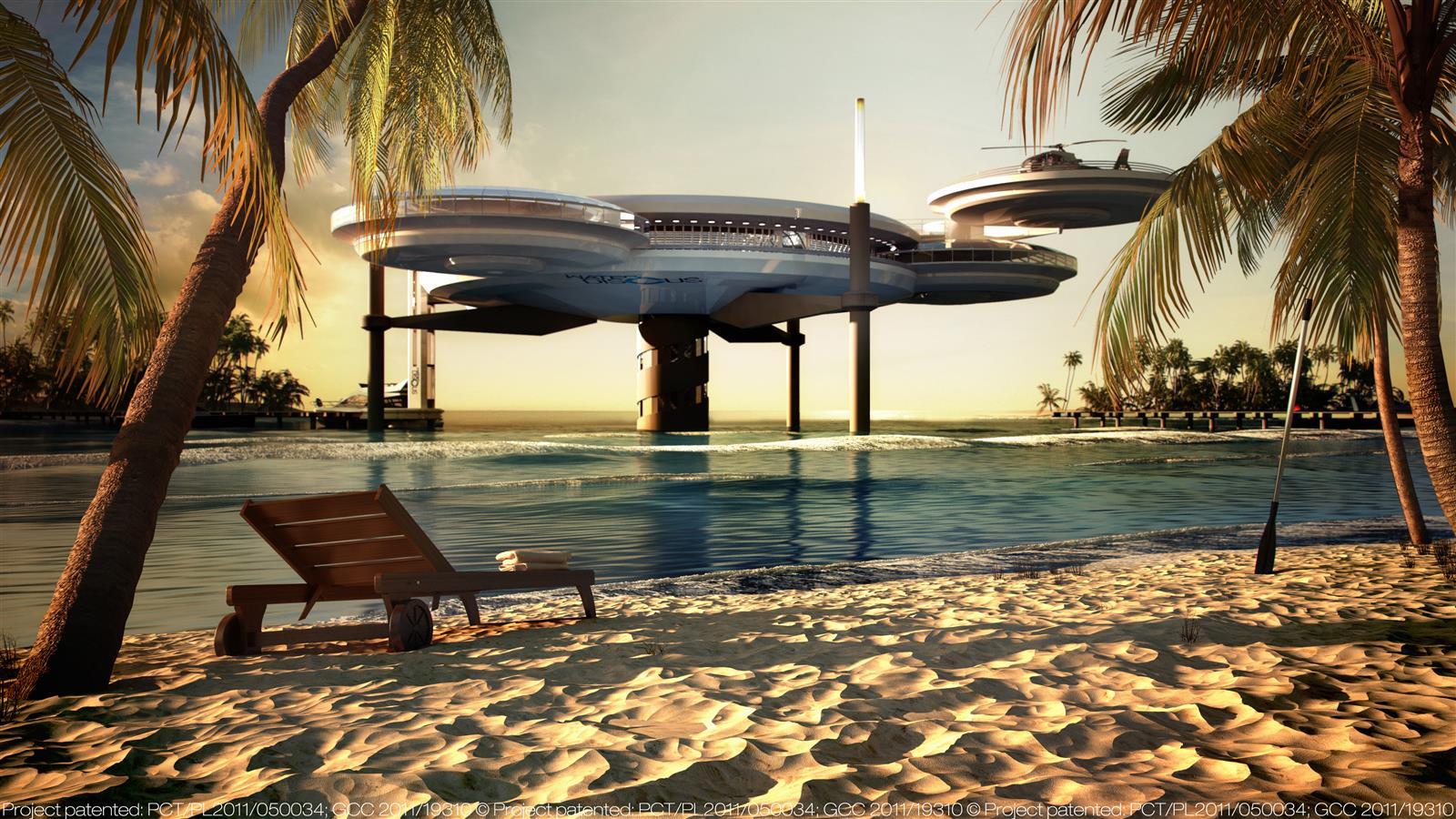Water Discus Underwater Hotels In Dubai (5)