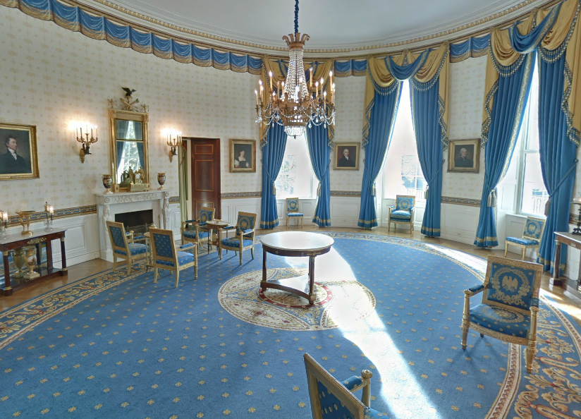 White House Google Street View