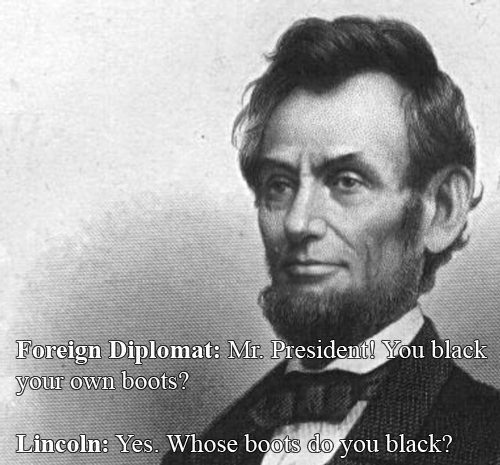 Abraham Lincoln vs A Foreign Diplomat