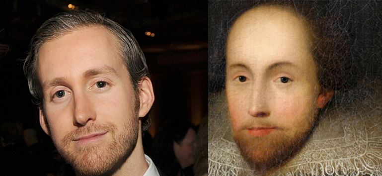 Adam Shulman Looks Like William Shakespeare