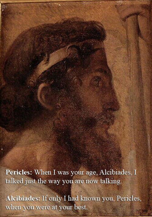 Alcibiades vs Pericles