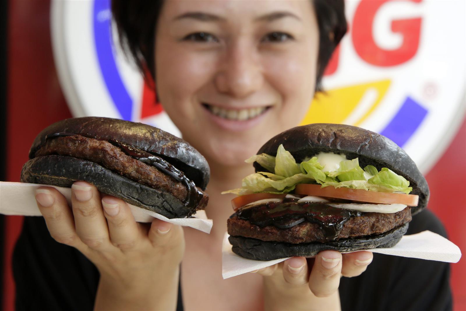 Burger King Black KURO Burgers