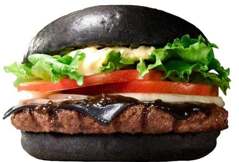 Burger King Black KURO Diamond Burger