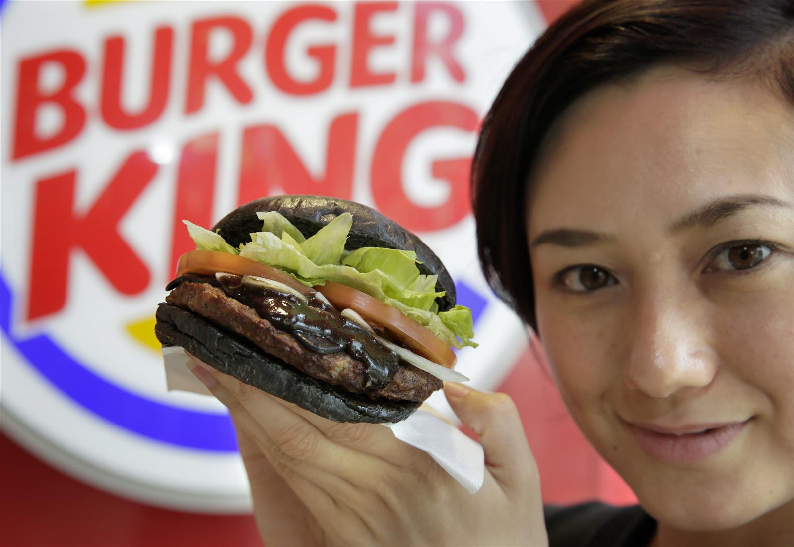 Burger King KURO Diamond Burger