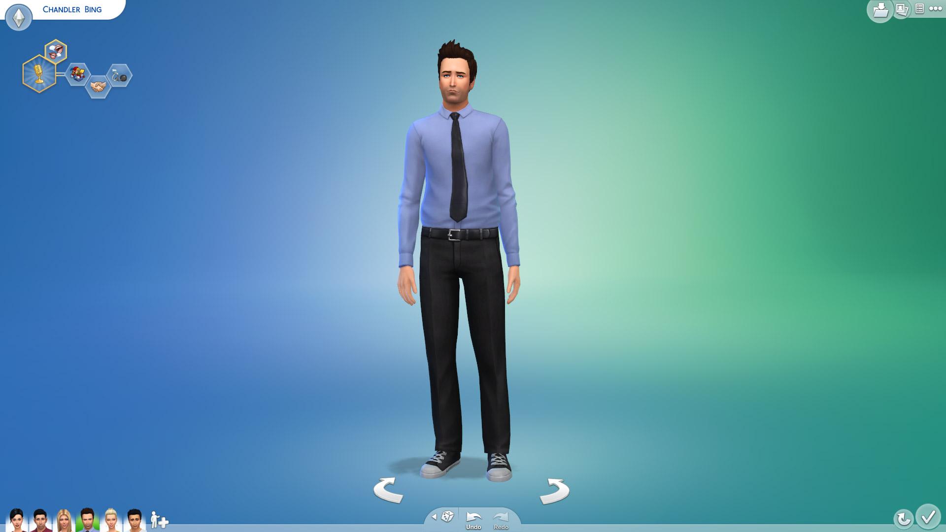 Chandler Bing In Sims