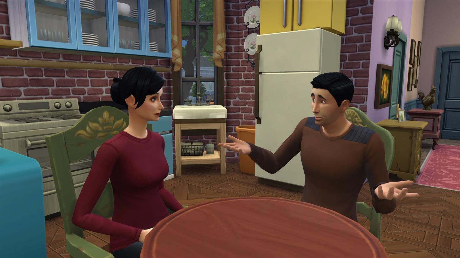 Friends In Sims (1)