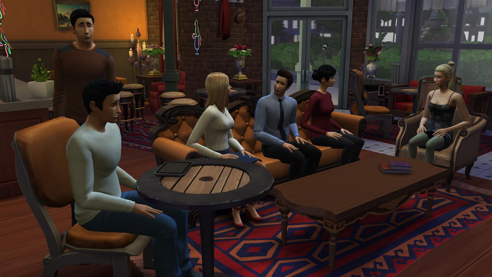 Friends In Sims (12)